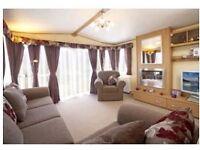 Weekend in June for £279 - luxury 3bed Tay Caravan with verandah + outdoor furniture! Southermess !