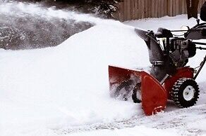 Snow removal! RESIDENTIAL SERVICES