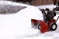 Residential Snow Removal! Good Rates!
