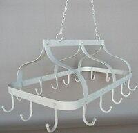 Cream kitchen rack