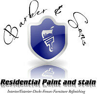 Barber & Sons Residential Paint and Stain
