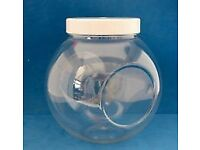 Plastic Spherical Sweet Jars