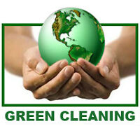 GREEN CLEANING SERVICES WITH PROFESSIONALS!