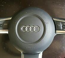Audi s3 rs3 a3 r8 flat bottom steering airbag