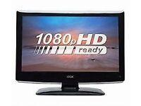 "LOGIK 22"" FULL HD LED TV WITH DVD PLAYER"