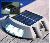 Solar LED Dock Light -$17.00 -4 pack $60.-PAY CASH NO HST