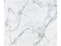 New Bathroom worktop for £26-50 - Bushboard Nuance in Calacatta Marble