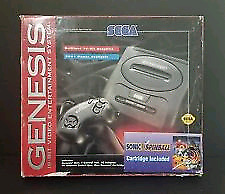 Sega genesis in box