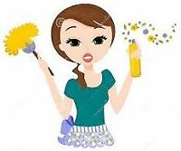 CLEANING LADY FOR MISSISSAUGA AND BRAMPTON