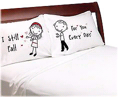 Pillowcase and pillows custom and personalized
