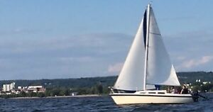Sailboat ready to go. Easy to sail and manage.
