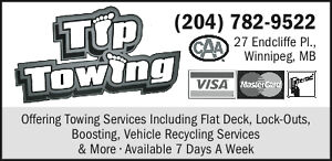 Towing, Boosting, lock out, Gas and tire Service