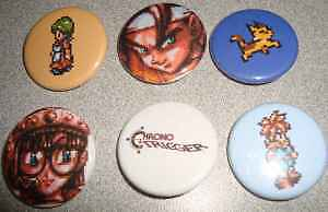 LOT-6-CHRONO-TRIGGER-BUTTONS-PINS-PINBACKS-BADGES