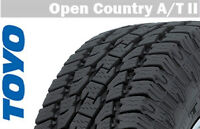 Brand New Toyo Opent Country A/T2 LT295/55R20, $1850 No Tax, ins