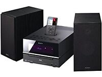 Sony CMTBX77DBI Mini Hi-Fi with DAB Radio and iPod Dock