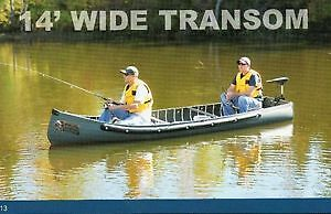 Sportspal 14 ft wide transom canoes instock now!