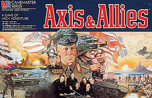 Axis and Allies Board Game Set