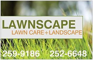 LAWN CARE - LANDSCAPING - SOD - SAVE 20% BOOK NOW