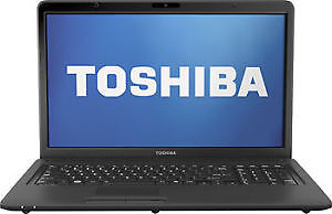 TOSHIBA i3 & A10 17INCH LAPTOP SUPER BLOWOUT SALE!  ------------