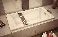 Drop in tub for sale -white 5'