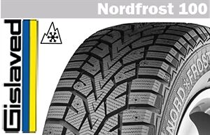 Gislaved NORDFROST 100  WINTER TIRES on Wheels/Rims - 235/65/R17