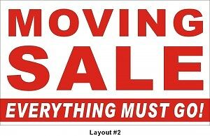 MOVING SALE - Everything Goes!