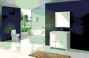 ⎷⎛Contemporary Bathroom Vanity & Cabinet Formosa FM36