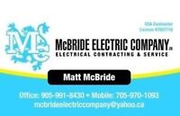 Proffesional Master Electrician References available