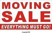 Everything must go Cedar Grove Logan Area Preview