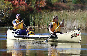 Sportspal 16 ft pointed canoes - last few of the season