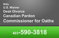 COMMISSIONER for OATHS AB, SK and QC