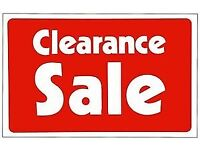 HUGE CLEARANCE SALE AT FORDYS FISHING TACKLE SHOP