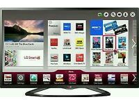 """LG 47"""" LED SMART WI-Fi TV BUILT IN HD FREEVIEW FULL HD 1080P TV IS in good condition fully"""