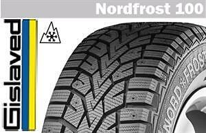 205/55R16 Gislaved Nord Frost 100 (Continental product line made in Germany)