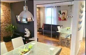 Nice 31/2 in downtown the village, Berri. Available for March 1