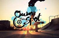Volunteers - Own the Spot