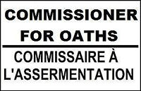 Do you need a Commissioner for Oaths? Do you want to pay less?