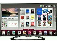 "LG 47"" LED SMART WI-Fi TV BUILT IN HD FREEVIEW FULL HD 1080P"