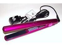 Genuine pink GHD hair straighteners