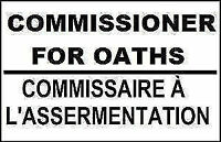 Commissioner for Oaths, NW Calgary (Citadel)
