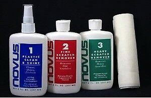 Novus Cleaner and Polish for Plexiglas and other Plastics
