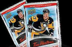 Tim Hortons Cards for trade 15-16 and 16-17