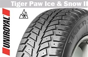 UNIROYAL TIGER PAW ICE & SNOW 205/70R15