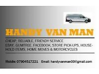 Handy Van & Man Delivery & Removal Service