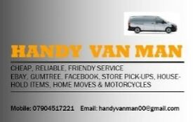 Handy Van Man Removal & Delivery Service