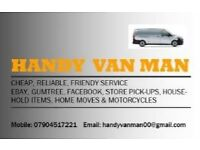 Handy Van Man Removal & Delivery Service