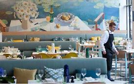 Commis Waiter - Kensington Place Restaurant - Immediate Start
