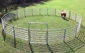 HORSE ROUND YARD - 15 METRE DIAMETER. Six rails strong and safe Brisbane City Brisbane North West Preview