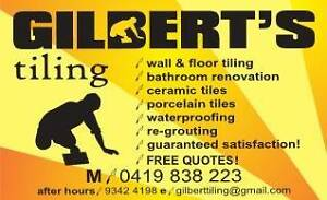 Gilbert's Tiling Mirrabooka Stirling Area Preview
