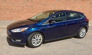 2016 Ford Focus Titanium Hatchback